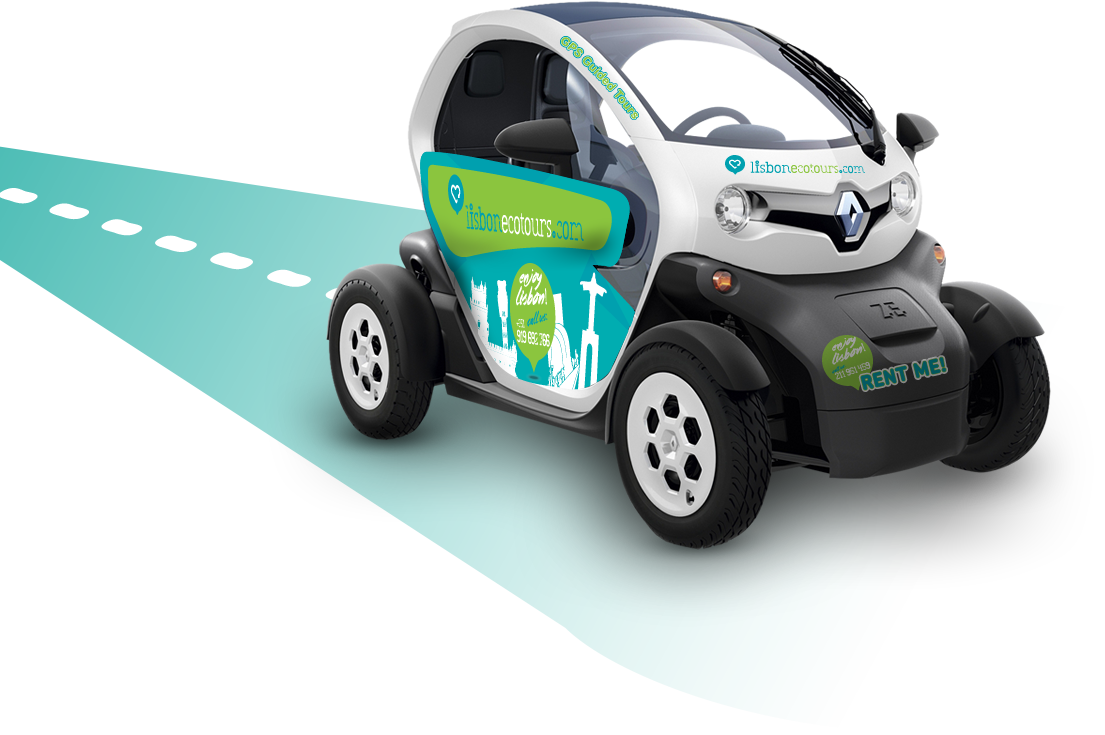 Twizy is 100% electric car with Audio Guide.