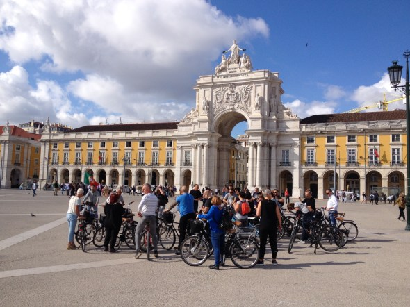 Central Lisbon e-bike Tour -3 Hours
